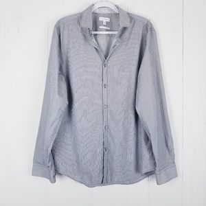 Calvin Klein Body Fit Button Shirt Size Large